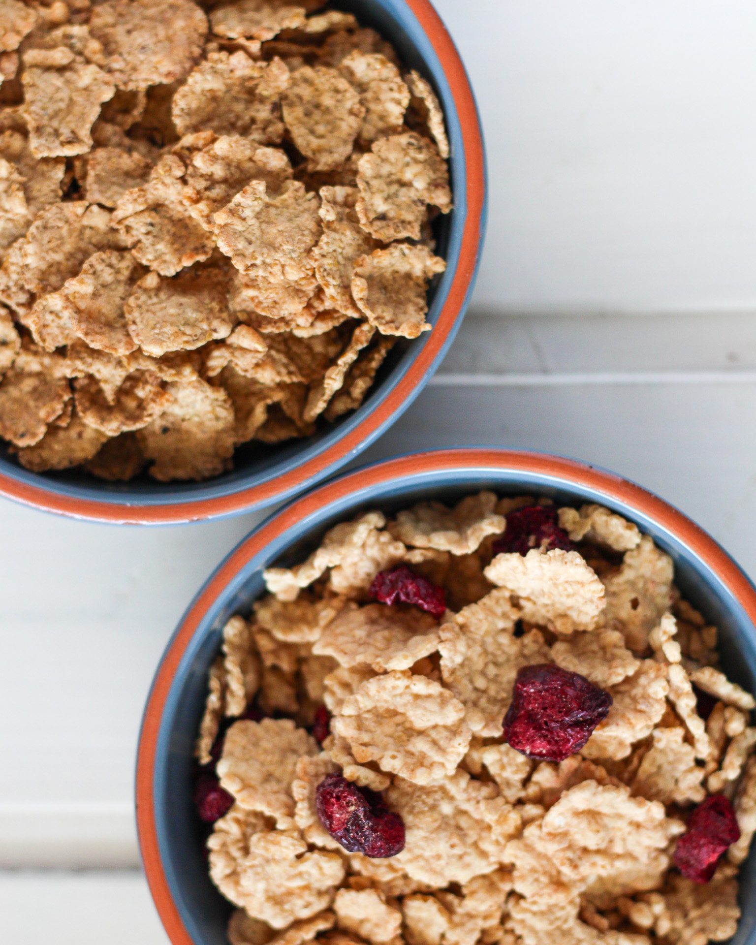 Semper glutenfrei Flakes & Fibre und Flakes & Red Berries