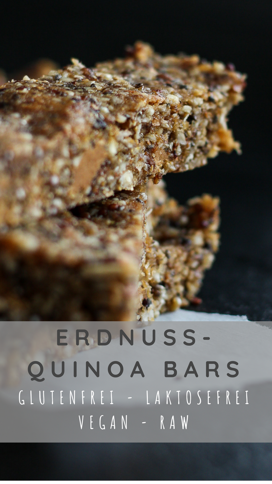 Erdnuss-Quinoa Bars